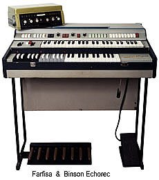 Richard Wright Farfisa